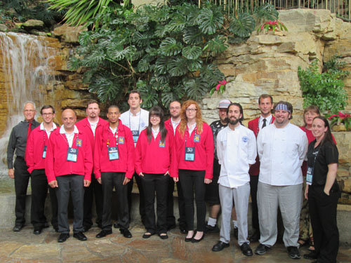 Students gild resumes with SkillsUSA gold