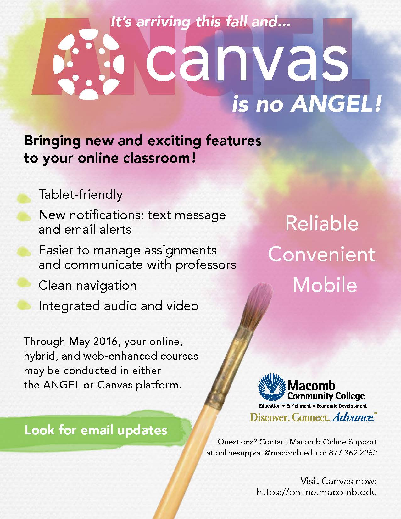 Canvas is no ANGEL!