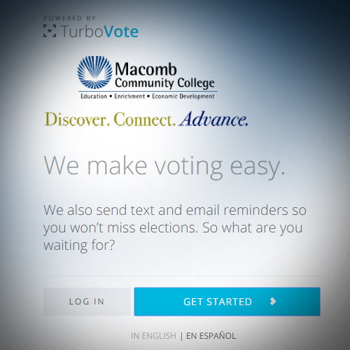 Register today with TurboVote!