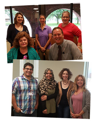 Macomb's Admissions team loves to help students!
